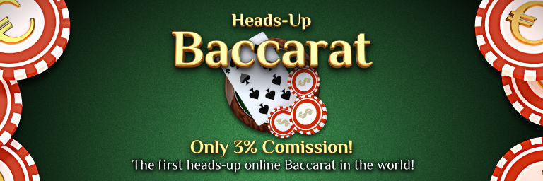 Heads-up Baccarat by Betcruise.com